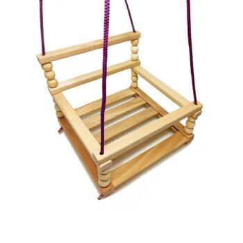 Качеля подвесная деревянная «Гуцулочка»