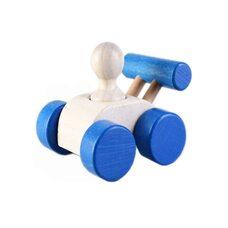 Каталка «Гоночная машина» (синяя)