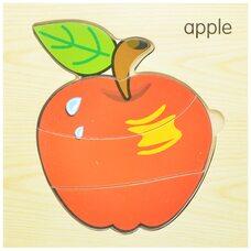 Пазл «Apple» 4 дет.