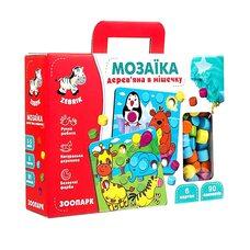 Мозаика-картинки «Зоопарк»,90 дет.