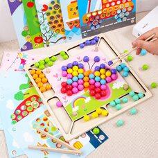 Мозаика-картинки «Цветные шарики»