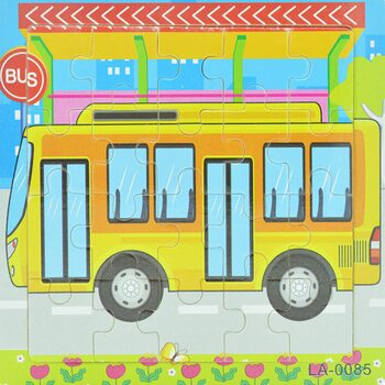 Пазл «Автобус», 20 дет.