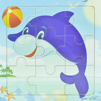 Пазл «Дельфин», 9 дет.