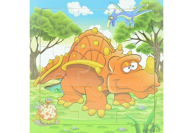 Пазл «Dino», 9 дет