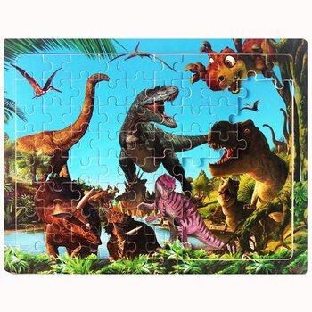 Пазл «Динозавры», 80 дет.
