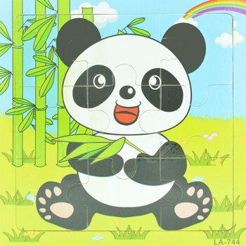 Пазл «Панда», 9 дет.