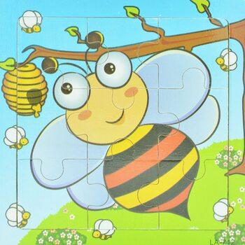 Пазл «Пчелка труженица», 9 дет.