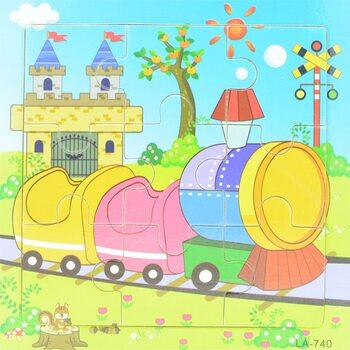 Пазл «Поезд», 9 дет.