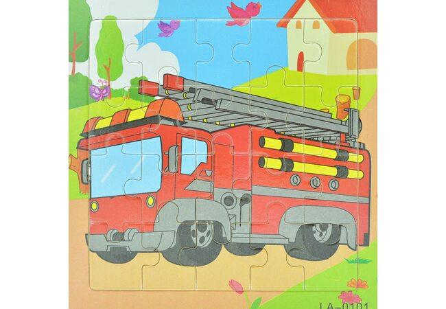 Пазл «Пожарный автомобиль», 20 дет.