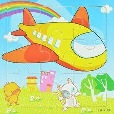 Пазл «Самолет», 9 дет.
