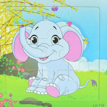 Пазл «Слоненок», 9 дет.