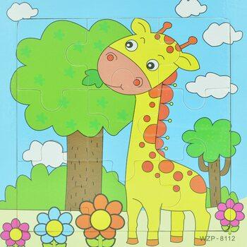 Пазл «Жираф», 9 дет.