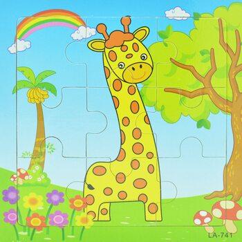 Пазл «Жирафик», 9 дет.