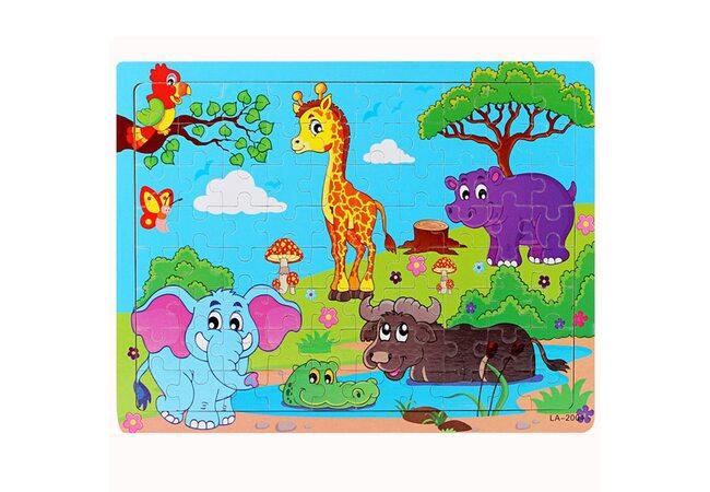 Пазл «Животные Африки», 80 дет