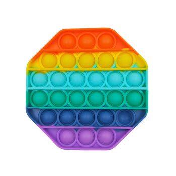 Pop it «Радужный восьмиугольник»