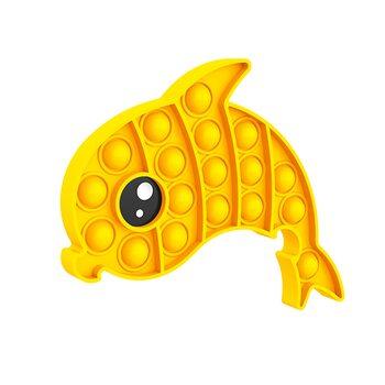 Pop it «Дельфин жёлтый»