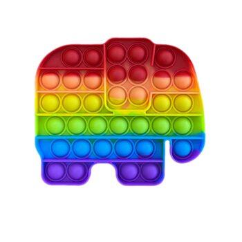 Pop it «Радужный слон»