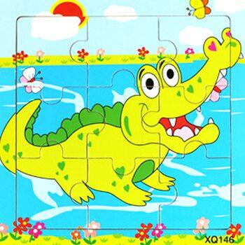 Пазл «Крокодильчик», 9 дет.