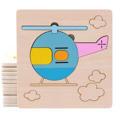 Пазл «Вертолет» 6 дет.