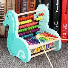 Счеты-ксилофон «Морской конек»