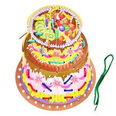 Шнуровка «Торт»