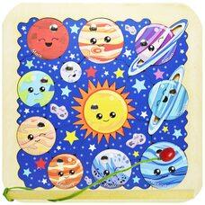 «Солнечная система» мозаика + рыбалка, 26 дет.