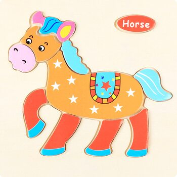 Horse-1 (пазл для малышей)
