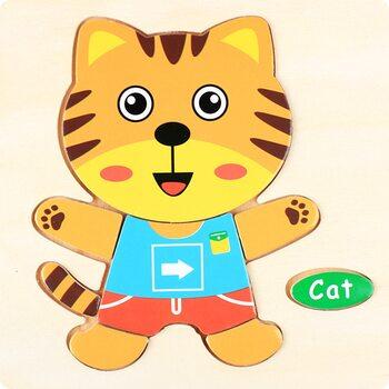 Kitten, пазл детский