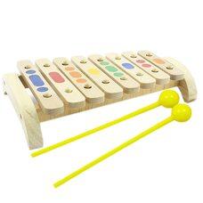 Деревянный ксилофон, 8 тонов (новый)