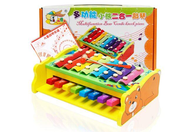Пианино-ксилофон «Мишка»