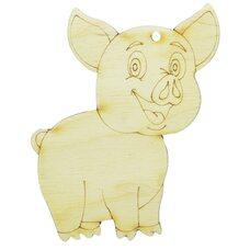 Ёлочное украшение «Свинка-2»