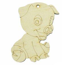 Ёлочное украшение «Свинка-3»
