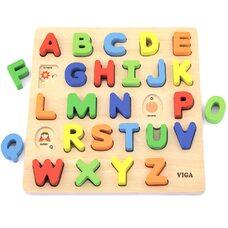 Объемный вкладыш «Английский алфавит»