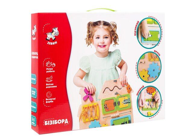 Бизиборд «Домик», ТМ «Vladi Toys»