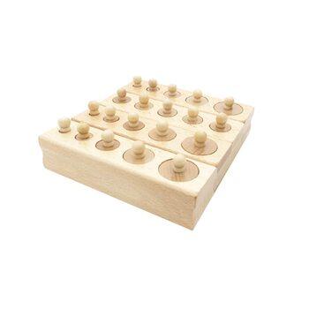 Блоки с цилиндрами-вкладышами (нелакированные)