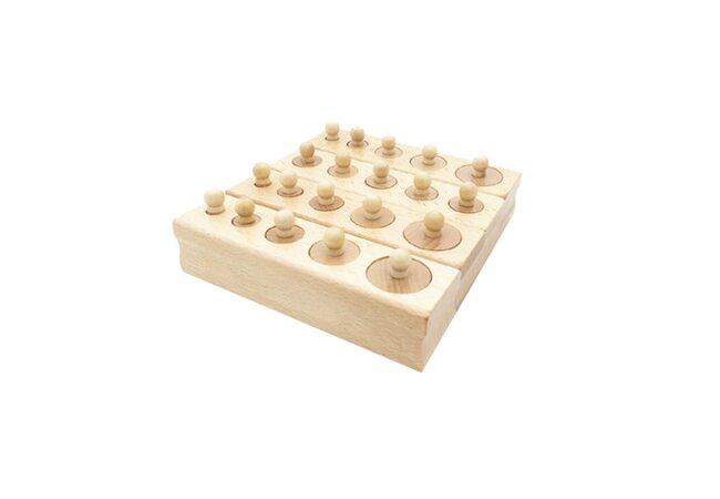 Блоки с цилиндрами-вкладышами (маленькие)