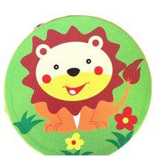 Деревянный бубен «Лев»