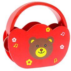 Музыкальный бубен «Мишка»