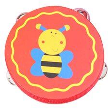 Деревянный бубен «Пчелка»
