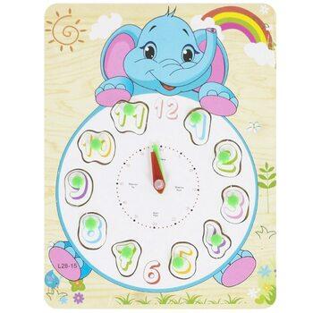 Часы-вкладыши «Слоненок»
