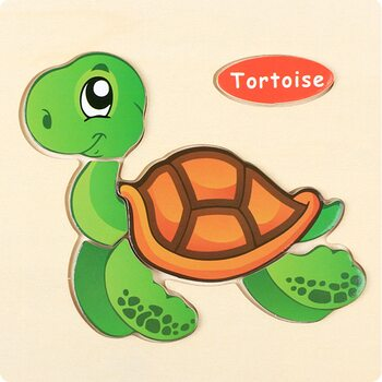 Tortoise (пазл детский)