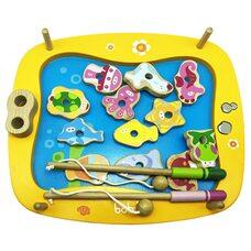 Игра-вкладыш «Рыбалка» для малышей