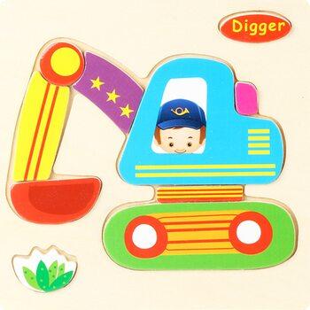 Digger, пазл детский