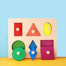 Вкладыши с геометрическими фигурами