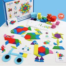 Игра «Геометрическая мозаика», 210 дет.