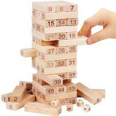 Настольная игра «Дженга» (неокрашенная), 51 дет.