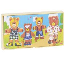Игра-раздевалка «4 медведя»