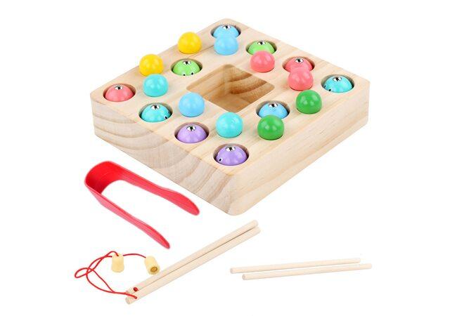 Игра-рыбалка «Рыбки-шарики»