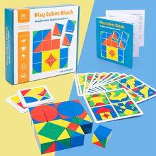 Кубики«Сложи узор» (16 кубиков, 2,5х2,5 см)