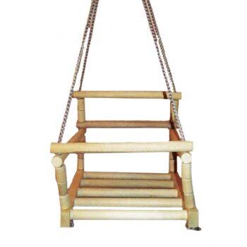 Качеля подвесная деревянная